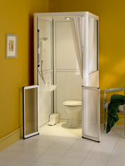 shower cubicles self contained. Front Entry Shower Cubicles And Cubicle Toilets Self Contained