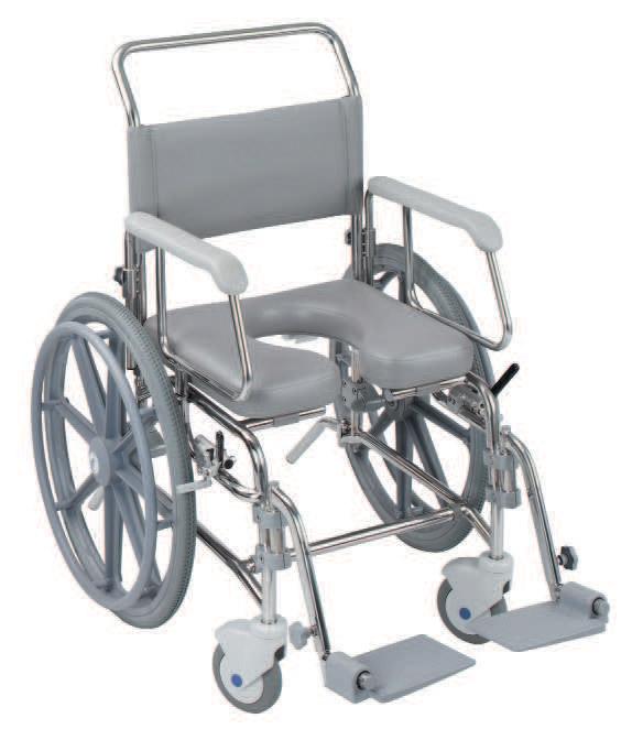 transaqua stainless steel shower toileting chair range chiltern